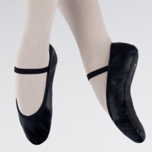 boys black ballet shoes