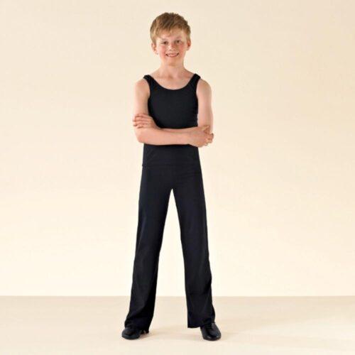 black jazz pants