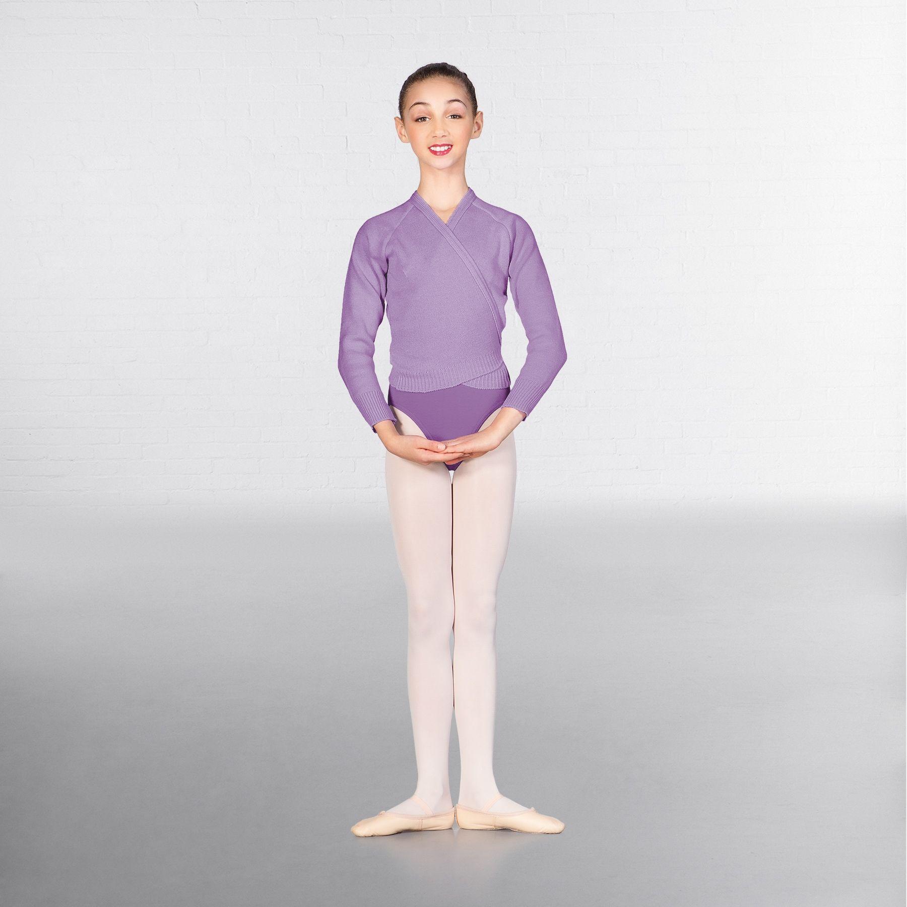 lavender ballet cardigan